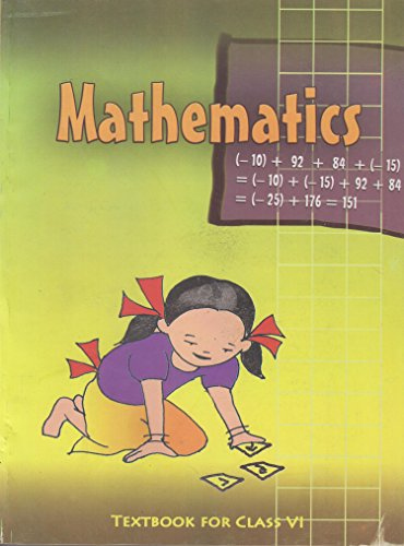 Mathematics Textbook for Class - 6 - 650