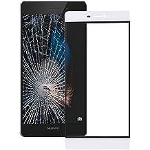 Piezas de repuesto de teléfonos móviles, Pantalla iPartsBuy Huawei P8 Frente lente de cristal externa ( Color : Blanco )