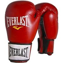 Everlast Boxhandschuhe Moulded Foam Training Gloves - Guantes de boxeo para combate, color rojo, talla FR: 30 cm