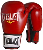 Everlast Boxhandschuhe Moulded Foam Training Gloves - Guantes de boxeo para combate, color rojo, talla FR: 30 cm