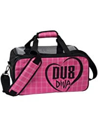 DV8 Diva Double Tote Bowling Bag with Shoe Pouch by DV8