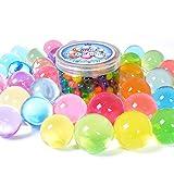 Grandes Perlas de agua 260G unidades (250pcs), creciente pelotas Jelly cristal del suelo para niños juguete táctil y florero Filler