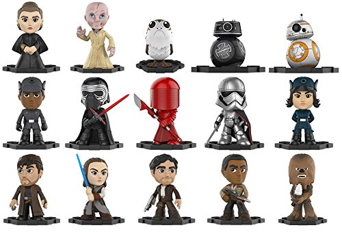 Figura Mystery Minis Star Wars Episode 8 The Last Jedi 12 uds