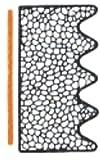 5m-Zellkautschuk-selbstklebend - 8mm x 15mm - WZK 656 für Fenster und Türen Farbe Schwarz