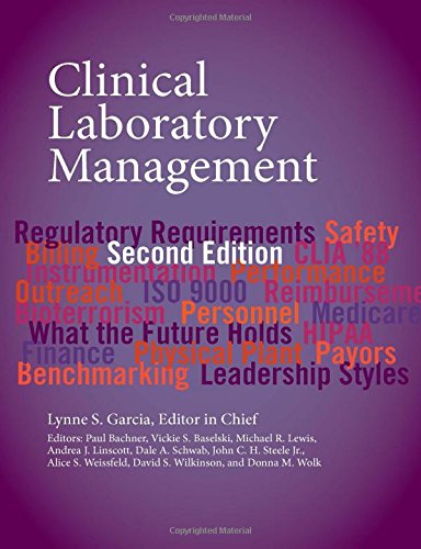 Clinical Laboratory Management (ASM Books)