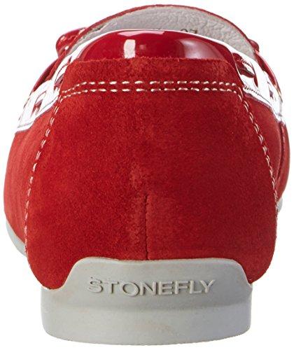 Stonefly Damen Capri Iii 1 Mokassin Rot (ROSSO 600)