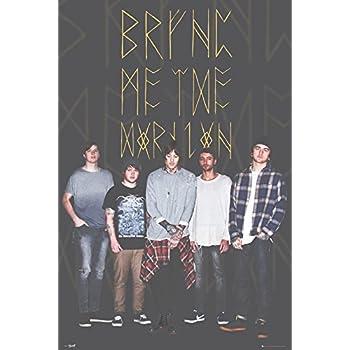 Bring Me The Horizon Group Black Music Metal BMTH Maxi Poster Print 61x91.5cm