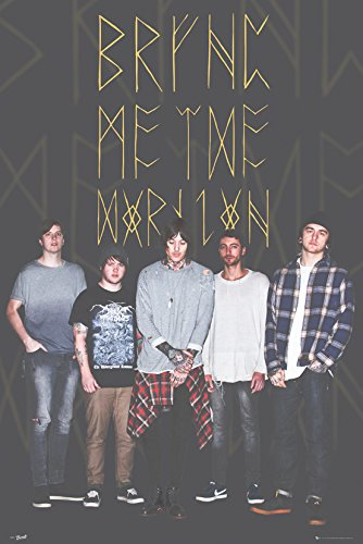 GB eye LTD, Bring Me the Horizon, Gruppo Black, Maxi Poster, 61 x 91,5 cm