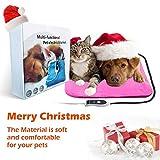 ZNOKA Multifunzione riscaldamento Pad, cane gatto animale domestico coperta riscaldamento Pad impermeabile regolabile tappetino riscaldante 45,7x 45,7cm