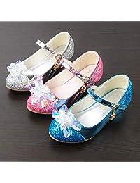 b26c1570a Zapatos de correa de tobillo para niños Zapatos Mary Jane Wedding Party  Zapatos de dama de