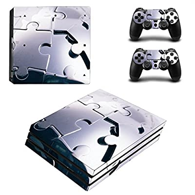 Zhhlinyuan Skin Sticker Vinyl Decal Cover for PlayStatio PS4 Pro Console+Controllers ZY0001# from zhuhaishi xiangzhou linyuan dianzi shanghang