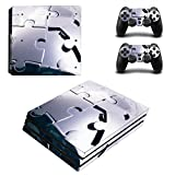 Ps4 Console Best Deals - Zhhlinyuan Skin Sticker Vinyl Decal Cover para PlayStatio PS4 Pro Console+Controllers