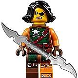 Ninjago Lego Minifigur Cyren (Weiblicher Luftpirat) mit GALAXYARMS Doppelklingenschwert