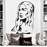 Sshssh Hohe Qualität Vinyl Wandkunst Aufkleber Aufkleber Game Of Thrones Wandaufkleber Kunst Home Wandbild 58 * 75 Cm