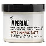 Imperial Barber Products Matte Pomade Paste 147 ml Für ein natürliches, mattes Finish mit einem leichten bis mittleren Halt