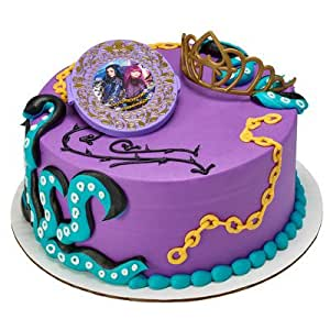 Descendants Rock This Style Cake Decorating Set Amazon In