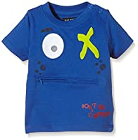 Blue Seven Boy's T-Shirt - Blue - 0-3 Months