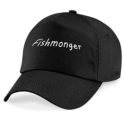 Duxbury Vintage Designs Fischhändler Baseball Cap Hat Fischschere Worker Geschenk