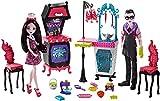 Monster High FCV75 Familie Vampire Küche Spielset mit Puppe (2 Stück)