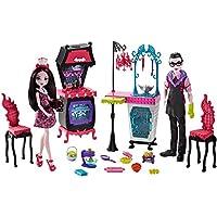 Monster High FCV75 Family Vampire - Juego de Cocina con muñeca (2 Unidades)