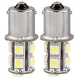 2 LAMPADINE LAMPADE 1156 LUCI POSTERIORI STOP 13 LED SMD