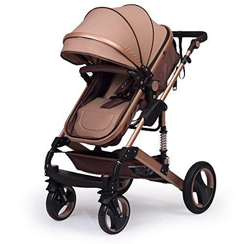 """Kinderwagen """"California"""", 3 in 1-Kombikinderwagen, Megaset 8-teilig inkl. Babywanne, Babyschale, Sportwagen und Zubehör, zertifiziert nach der Sicherheitsnorm EN1888, Beige"""