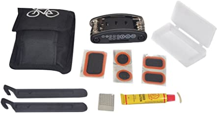 Dark Horse Bicycle Puncture Tool Kit With Pouch & Multi Purpose Tools