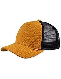 DJINNS - Piki Leather - Trucker Cap Meshcap Hat Kappe Mütze Caps
