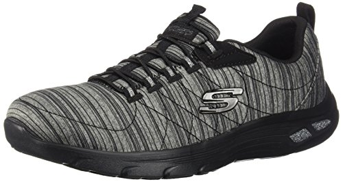 Skechers Damen Sneaker Low Empire D'lux schwarzmeliert 38 -