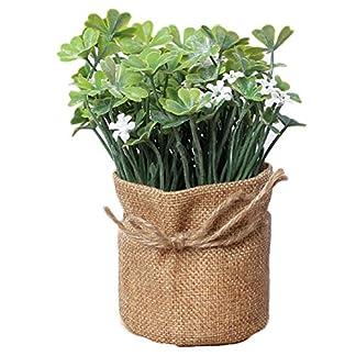 Laat – Flores artificiales para el hogar en maceta de estilo rústico, también para bodas