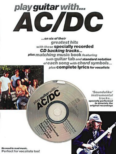 By Music Sales Corporation Play Guitar with AC/DC (Pap/Com) [Paperback]