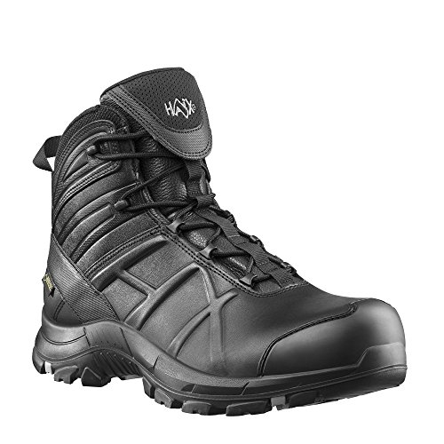 Haix Black Eagle Safety 50 Mid Atmungsaktive Einsatzstiefel: Workwear für JEDE Situation. 43