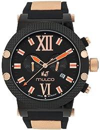 Mulco MW3-11010-028 MW311010028 - Reloj , correa de goma color negro