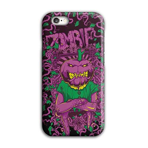 Kostüm 6 Iphone Halloween (Gemüse Horror Zombie Kopf Maske iPhone 6 / 6S Hülle |)