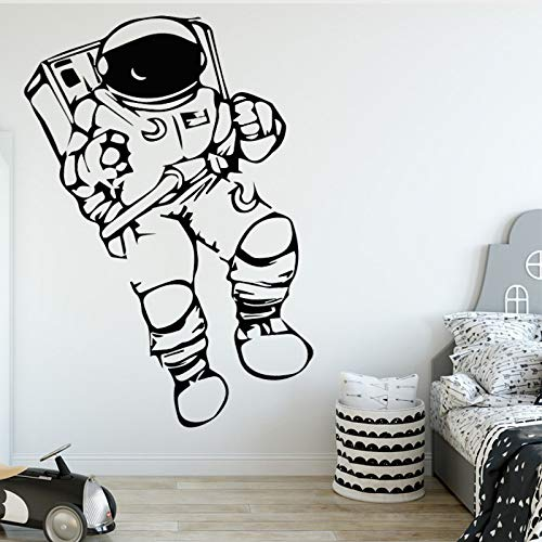 Potente astronauta Wall Stickers Moda moderna Wall Sticker Home Decoration Accessori per soggiorno Sfondo Adesivo 58 centimetri X 92 centimetri
