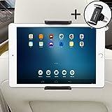 2in1 Autohalterung SET Universale Tablet Halterung + Handyhalterung Auto Lüftung, Einstellbare KFZ Halter Für Apple iPad 2/3/4/Mini/Air, Samsung Galaxy Tab, Google Nexus und andere 6-11 Zoll Tablets