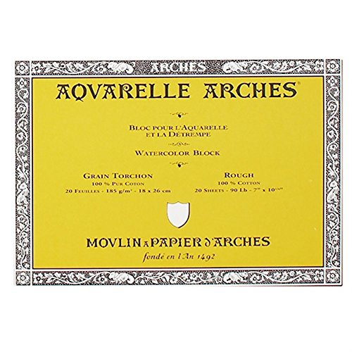 arches-aquarelle-200177151-bloc-20-feuilles-185g-grain-torchon-18-x-26-cm-blanc-naturel