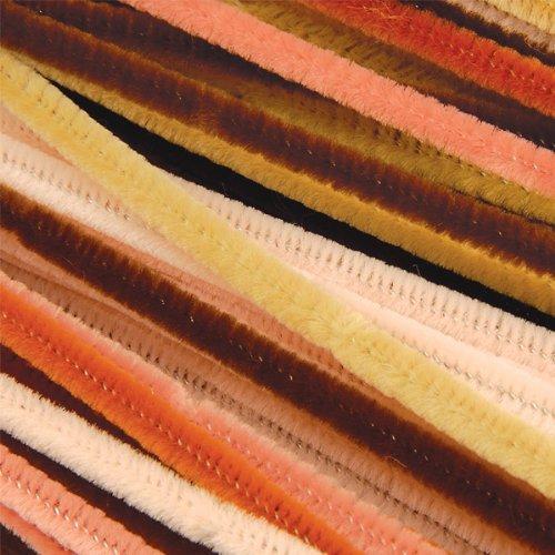 Creation Station, 300 x 6 mm, Pfeifenreiniger, groß, 100 Stück, mehrfarbig, Kultur