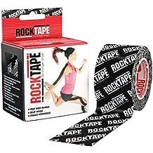 Rocktape 5cm x 5m Kinesiology Tape - Black Logo - One Size