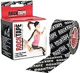Rocktape Kinesiology Tape, 5 cm - Black with Logo