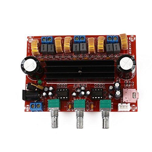 24v Verstärker (Haihuic TPA3116D2 50Wx2 + 100W 2.1 Tonkanal Digitale Verstärkerplatine 12-24V XH-M139)
