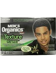 Africa S Best Men's Organics Texture My Way Comb Thru Crème Texture izing Kit