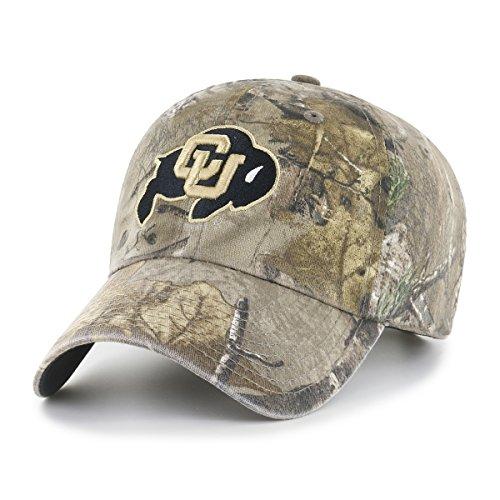NCAA Realtree OTS Challenger verstellbar Hat, Unisex - Erwachsene, NCAA Realtree OTS Challenger Clean Up Adjustable Hat, Realtree Camo, Einheitsgröße Throwback Hat Cap