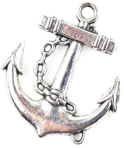midwest-design-imports-nautical-anchor-paracord-charm-silver