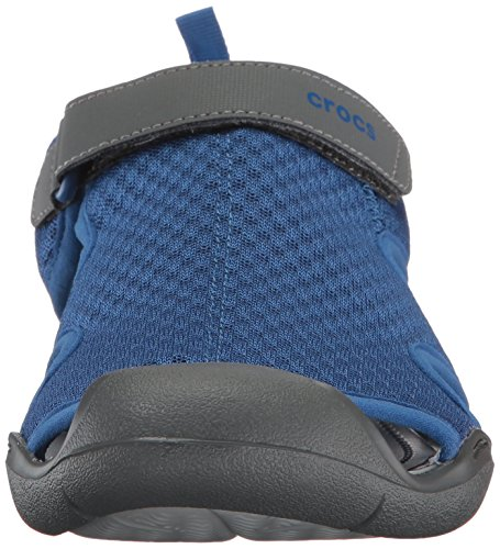 Crocs Swftwtrmshsndlw, Spartiates Femme Bleu (Blue Jean)
