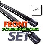 HYBROX Frontscheibe Scheibenwischer (4250866543463) Wischblatt Satz FLEXO 650/400 (F10)