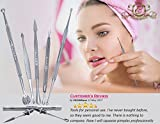 Blackhead Remover - Whiteheads Remover - Acne Pimple Comedone blemish Extractor - Facial care - 100% Hygienic Bild 4
