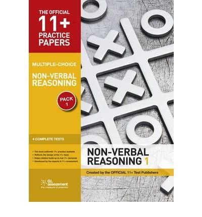 Official 11 Practice Papers Non verbal Reasoning Pack 1 Multiple Choice Non verbal Reasoning
