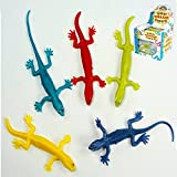 Stretchy Lizards Party Bag Fillers, pack of 6