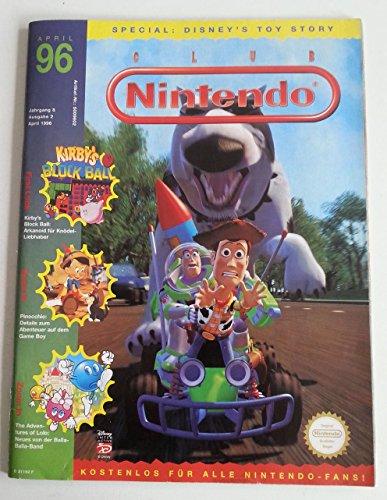 Club Nintendo Magazin SNES Super Nintendo NES GB (u.a. über Toy Story Pinocchio Kirby Donald in Maui Mallard ) Spieleberater Zeitschrift Ausgabe 2 April 1996